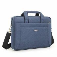 Men Waterproof Nylon Laptop Handbags Casual Solid Soft Single Handle Blue Bag