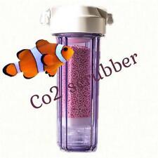 Aquarium co2 scrubber oxygen reactor reef tank media medical grade colour change