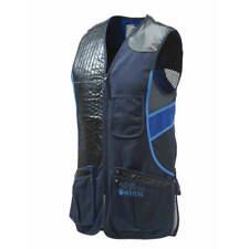 Beretta Sporting Vest Skeet Shooting Clays Trap Blue Olive Black M-4XL