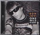 "BON JOVI  ""ONE WILD NIGHT""   CD"