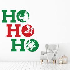 Ho Ho Ho Kerstballen Muursticker WS-50049
