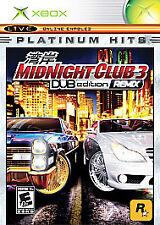 ***MIDNIGHT CLUB 3 DUB EDITION REMIX ORIGINAL XBOX DISC ONLY~~~