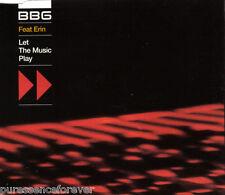 BBG ft ERIN - Let The Music Play (UK 4 Track CD Single)