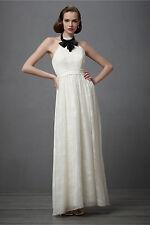 NEW BHLDN City Of Lights Wedding Dress Silk - Many Sizes - A-Line, Halter Neck