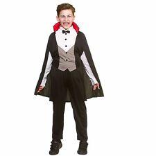 Figlio assetati di sangue Vampiro Halloween Ragazzi Costume Scheletro Bambino Grim