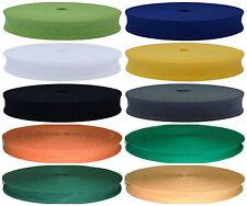 Bande de Biais de Coton Pliable 37 X 25mm (2.5cm), Couleur au Choix & Longueur