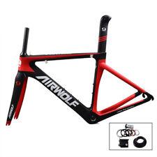 48-56cm Full Carbon Road Bike Frame Fork Seatpost 700C Matt BSA Racing Frameset