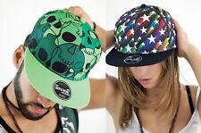 ATLANTIS cappellino SNAP FANTASY Acrilico Poliestere VISIERA PIATTA 10 colori #