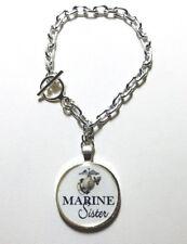 Marine Sister Charm Bracelet