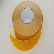 Amarillo Antideslizante Cinta non Skid alto agarre fuerte Adhesivo con respaldo - 50 Mm De Ancho