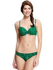 M&S NUEVO CON ETIQUETA Push-up Bikini Talla 34A & 14