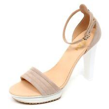 D2452 sandalo donna HOGAN H247 scarpa beige shoe woman