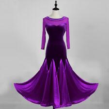 Professional college dress women's ballroom standard waltz tango fox dance dress