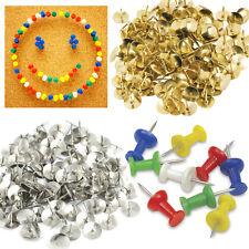 NUOVA scheda 150 PERNI carta da disegno gli elementi di fissaggio Push Pin Librane delio Stalo Thumb TacK