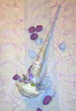 Tischdeko Tischdekoration Kommunion Fische hblau/flied