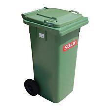 Container SULO 120 L vert bac ordures ménagères poubelle extérieure tri (22069)