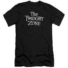 Twilight Zone TV Series CBS Logo Adult Slim T-Shirt Tee