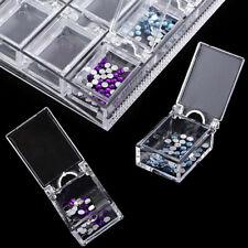 20 Slots Diamond Painting Beads Storage Box Nail Art Plastic Case Organizer Tool