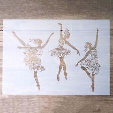Craft Layering Ballerina Stencil For Walls Painting Scrapbooking Stamping Album