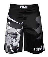 Fuji Sakana MMA BJJ No Gi Performance Competition Fight Board Shorts - Black