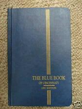 Blue Book of Cincinnati 1991 edition college clubs Debutantes