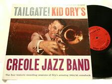 KID ORY Creole Jazz Band Tailgate! Mutt Carey Omer Simeon Darnell Howard dg LP