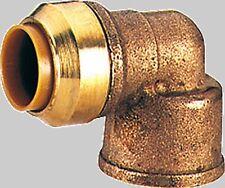 Tectite Raccordo Plug-In per Tubi in Rame Gomito Transizione 90 i / IG Vari Gr.