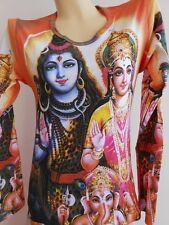 Shiva Family Parvati Ganesh OM Hindu God Woman tattoo t shirt S M L w10L
