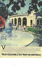 PUBLICITE  1983  VICHY CELESTINS source thermale  d'eau naturelle