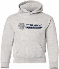 Cray Research SGI Vintage Logo HOODY