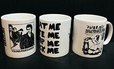 Adam & The Ants (Antz) : 3 x Classic Design New Mug Set - punk (adam ant) SET 2: