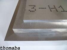 Aluminium Zuschnitt 8,00 - 30,00 mm Format wählbar Alu Blech Platte Tafel