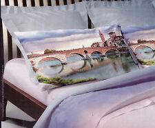 Draps - Couvre-Lit Simple et 1 Piazza et Mezza. My Colors - Ponts Giulietta