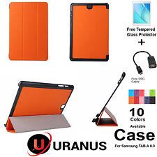 Galaxy Tab A Case Slim Smart Magnetic Uranus Cover Samsung TAB A 8.0 T350/P350