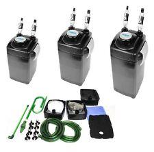 Hidom Aquarium Fish Tank External Canister Filter & Media 1000/1200/1500 LPH
