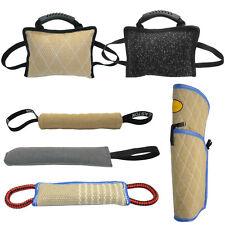 Beißkissen mit Handschlaufen Schutzdienst Bringsel Hundetraining Hundesport Jute