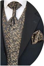 PANCIOTTO nozze con plastron,fazzoletto da taschino e cravatta,nr.12.2 taglia 44