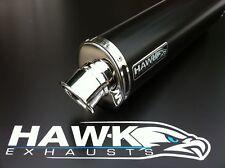 Honda CBR 900 Fireblade 92-95 Black Oval Exhaust Can SL