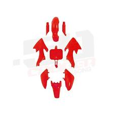 PLASTIC Red FAIRING HONDA CRF XR 50 CRF50 125 SSR SDG 107 PIT BIKE FENDER