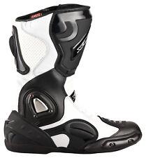 Stivali Moto Racing STIVALI STIVALI TOURING di XLS NERO BIANCO gr. 40-47