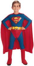 Superman Childrens Boys Heroic Costume Man Of Steel Jumpsuit Halloween Dress
