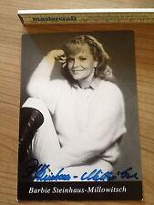 Barbie-Steinhaus Millowitsch Autogramme Autograph Original Sammlung  TV Kino