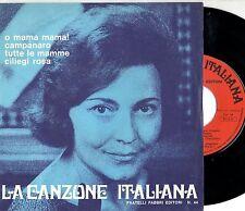 NILLA PIZZI disco EP 45 giri MADE in ITALY La canzone italiana n. 44