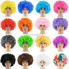 Curly Afro De Disfraces, Pelucas Funky Disco Payaso Estilo mens/ladies Disfraz Años 70 El Cabello