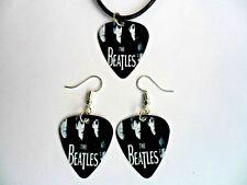 Los Beatles Pua Collar y pendientes de // o un