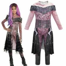 Enfants Descendants 3 Costume Audrey Mal Combinaison Halloween Déguisement FR