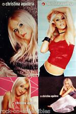 Christina Aguilera 1999 Rare Self Titled Double Sided Original Promo Poster