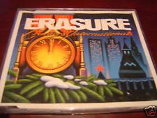 "ERASURE CRACKERS INTERNATIONAL 4 TRK IMPORT 3"" CD RARE"