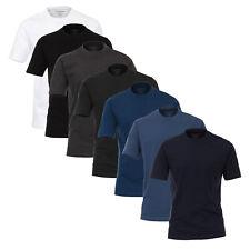 XXL Doppelpack Herren T-Shirt weiß Casa Moda Übergröße 2XL 3XL 4XL 5XL 6XL NEU