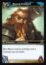WoW - 4x Maxum Ironbrew - Helden von Azeroth - mint
